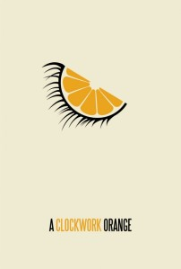 A Clockwork Orange Minimalist poster